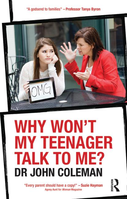 Why Won't My Teenager Talk to Me? book cover