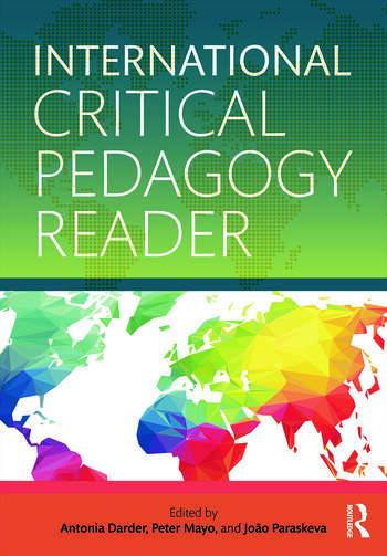International Critical Pedagogy Reader book cover