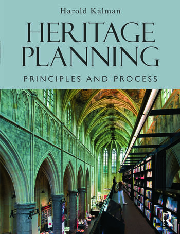 Heritage Planning Principles and Process book cover