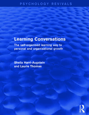 Learning Conversations The Self-Organised Learning Way to Personal and Organisational Growth book cover