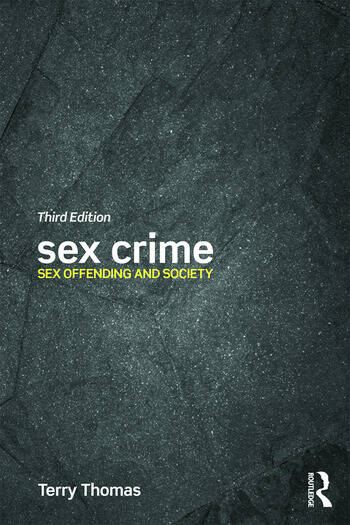 Sex Crime Sex offending and society book cover