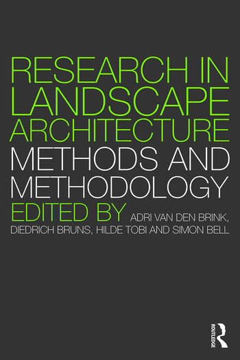 Research in Landscape Architecture Methods and Methodology book cover
