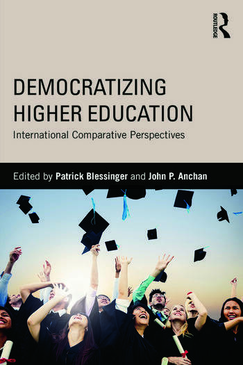 Democratizing Higher Education International Comparative Perspectives book cover