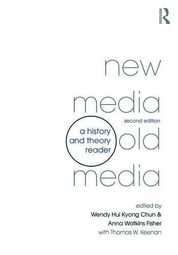New Media, Old Media A History and Theory Reader book cover