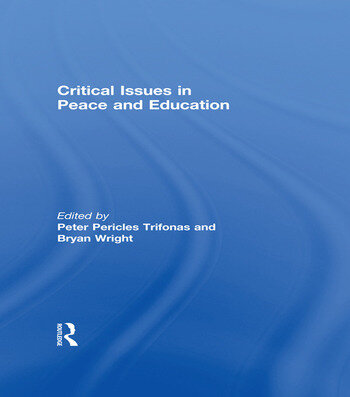 Critical Issues in Peace and Education book cover