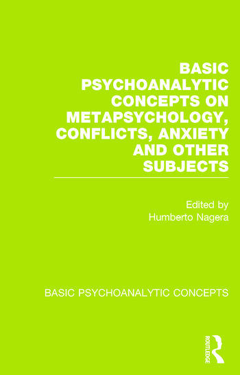 Basic Psychoanalytic Concepts book cover