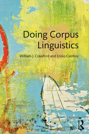 Doing Corpus Linguistics book cover