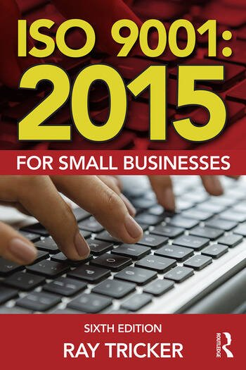ISO 9001:2015 for Small Businesses book cover