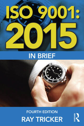 ISO 9001:2015 In Brief book cover