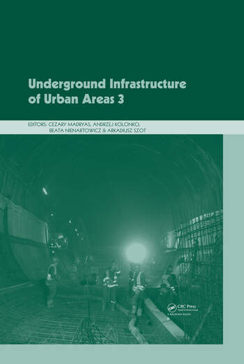 Underground Infrastructure of Urban Areas 3 book cover