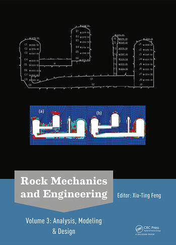 Rock Mechanics and Engineering Volume 3 Analysis, Modeling & Design book cover