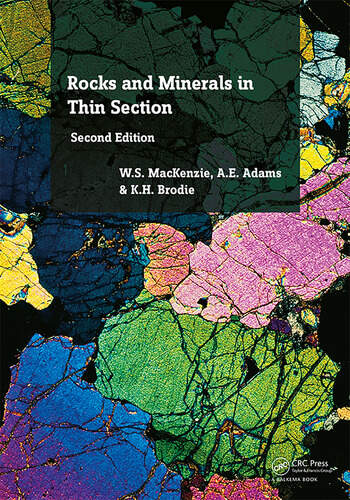 Rocks and Minerals in Thin Section A Colour Atlas book cover