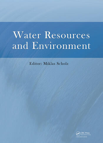 Water Resources and Environment Proceedings of the 2015 International Conference on Water Resources and Environment (Beijing, 25-28 July 2015) book cover