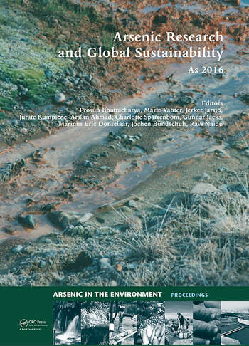 Arsenic Research and Global Sustainability Proceedings of the Sixth International Congress on Arsenic in the Environment (As2016), June 19-23, 2016, Stockholm, Sweden book cover