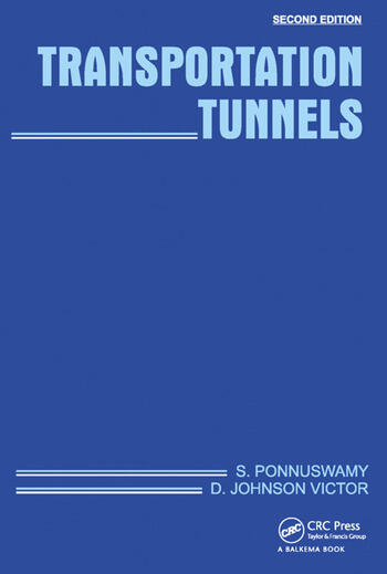 Transportation Tunnels, Second Edition book cover