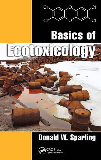 Basics of Ecotoxicology book cover