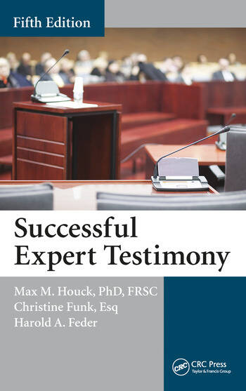 Successful Expert Testimony book cover