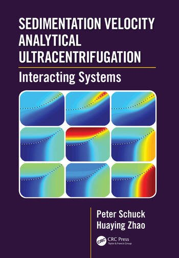 Sedimentation Velocity Analytical Ultracentrifugation Interacting Systems book cover