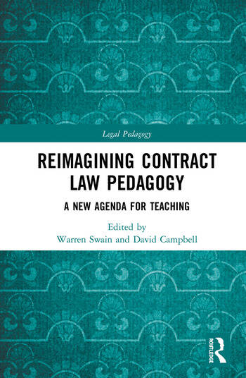 Reimagining Contract Law Pedagogy A New Agenda for Teaching book cover