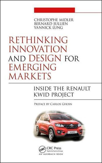 Rethinking Innovation and Design for Emerging Markets Inside the Renault Kwid Project book cover