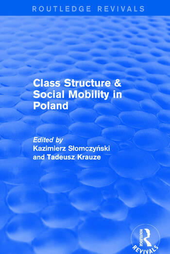 Revival: Class Structure and Social Mobility in Poland (1980) book cover