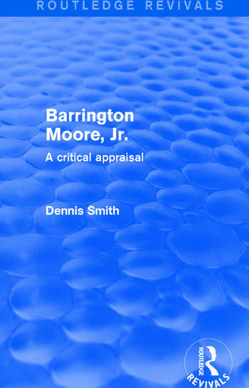 Barrington Moore Jr book cover