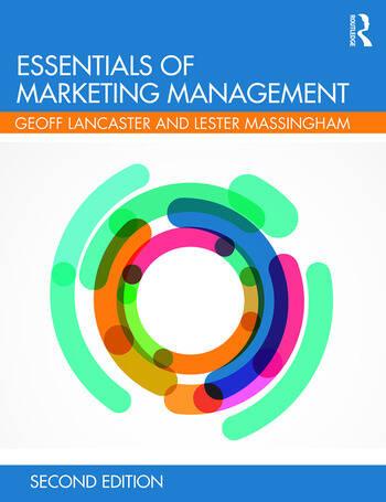 Essentials of Marketing Management book cover