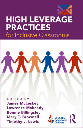 High Leverage Practices for Inclusive Classrooms book cover