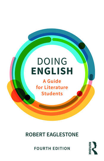Doing English A Guide for Literature Students book cover