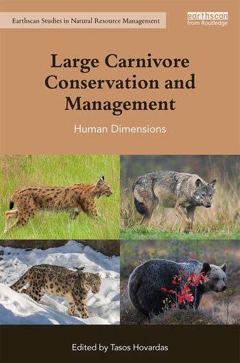 Large Carnivore Conservation and Management Human Dimensions book cover