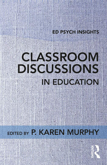 Classroom Discussions in Education book cover