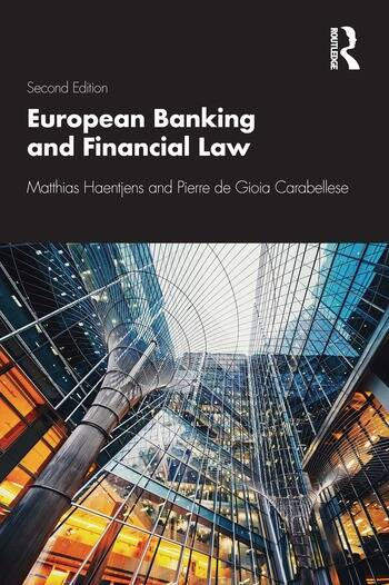 European Banking and Financial Law 2e book cover