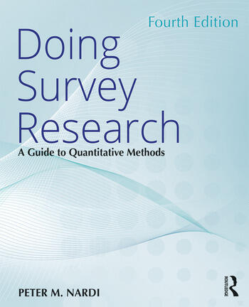 Doing Survey Research A Guide to Quantitative Methods book cover