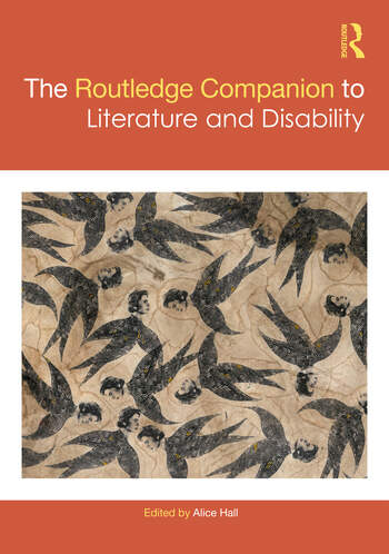 The Routledge Companion to Literature and Disability book cover