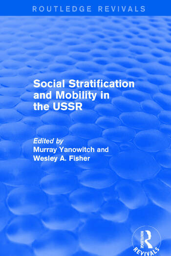 Social Stratification and Moblity in the USSR book cover