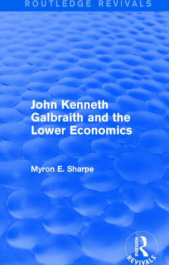 Revival: Galbraith and Lower Econ II (1990) book cover