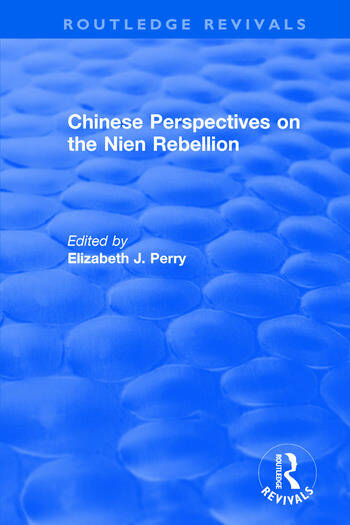 Revival: Chinese Perspectives on the Nien Rebellion (1981) book cover