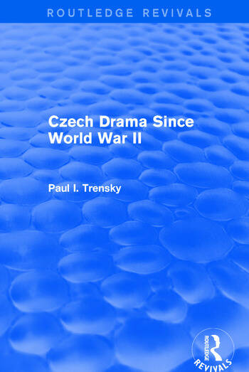 Czech Drama Since World War II book cover