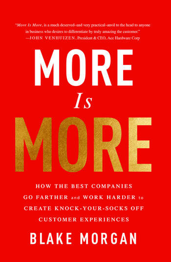 More Is More How the Best Companies Go Farther and Work Harder to Create Knock-Your-Socks-Off Customer Experiences book cover