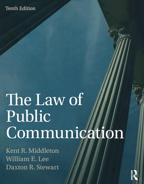 The Law of Public Communication book cover