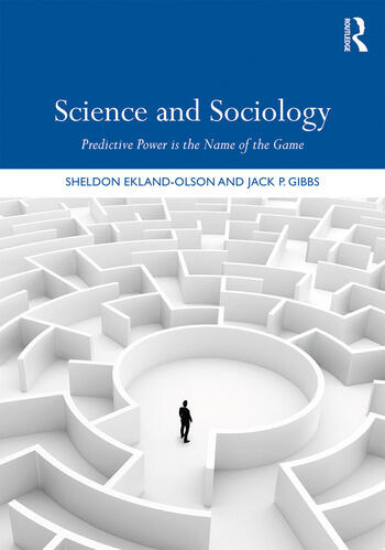 Science and Sociology Predictive Power is the Name of the Game book cover