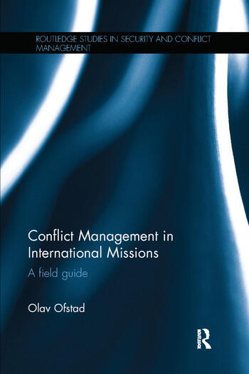 Conflict Management in International Missions A field guide book cover