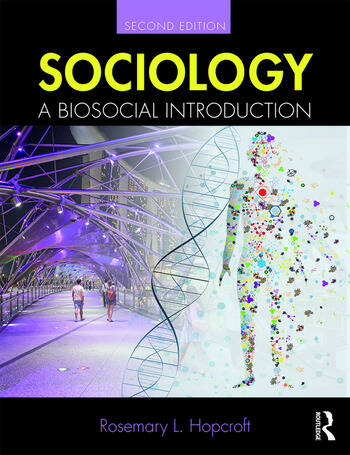 Sociology A Biosocial Introduction book cover