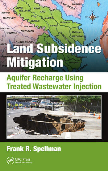 Land Subsidence Mitigation Aquifer Recharge Using Treated Wastewater Injection book cover