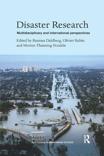 Disaster Research Multidisciplinary and International Perspectives book cover