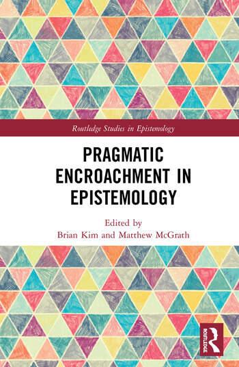 Pragmatic Encroachment in Epistemology book cover