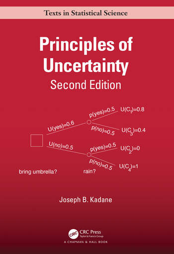 Principles of Uncertainty, Second Edition book cover