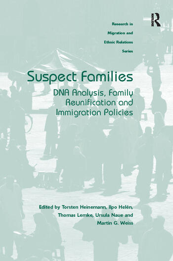 Suspect Families DNA Analysis, Family Reunification and Immigration Policies book cover