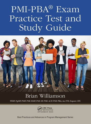 PMI-PBA® Exam Practice Test and Study Guide book cover
