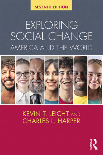 Exploring Social Change America and the World book cover